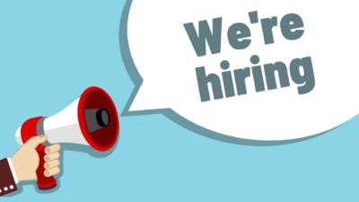 We're Hiring - Join our team!