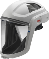 3M Versaflo Faceshield M-107 features a flame resistant faceseal for applications with hot particles