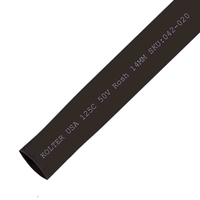 Heat Shrink | Black 14mm Diameter 100M Reel