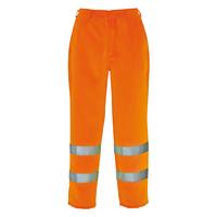 Portwest Hi-Visibility Poly-Cotton Trouser Hi-Vis Orange