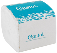 Coastal Interleaved Toilet Tissue 2 Ply 250 Sheet x 36 Pkts
