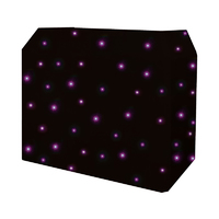 Equinox DJ Booth Quad LED Starcloth System