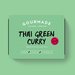 Frozen Gourmade Thai Green Curry