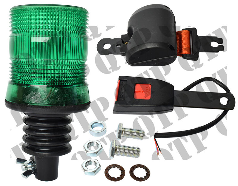 Beacon Flexi Green With Seat Belt Kit Flat
