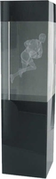 15cm Gaelic Footbal Crystal Award