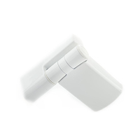 PATRIOT PLUS DOOR HINGE 22MM WHITE