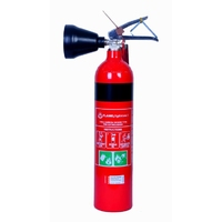 CO2 Fire Extinguisher +Wall Bracket 2kg