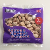 Pointer Salmon Flavour Burgers 400g x 6