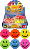 Light up Smile Ball 5cm. (Sold in displays of 12, min order 1 display)