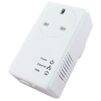 Edimax 500Mbps Homeplug AC Pass Single Unit