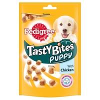 Pedigree Tasty Bites - Puppy Chewy Cubes with Chicken 125g x 8
