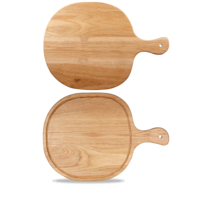 Round Handled Oak Board 32.5x45.5cm Carton of 4