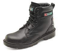Black Safety S1P Boots - CE Approved