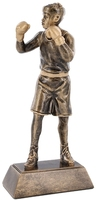 20cm Boxing Figure on Square Plinth | TC25