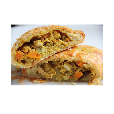 Curry Vegetable Pasty - (Halal) Redstar
