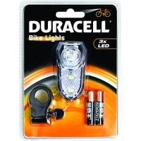 DURACELL 3 X LED FRONT BIKE LIGHT