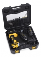 Powerplus Drill/Driver 18V Li-Ion Box Set