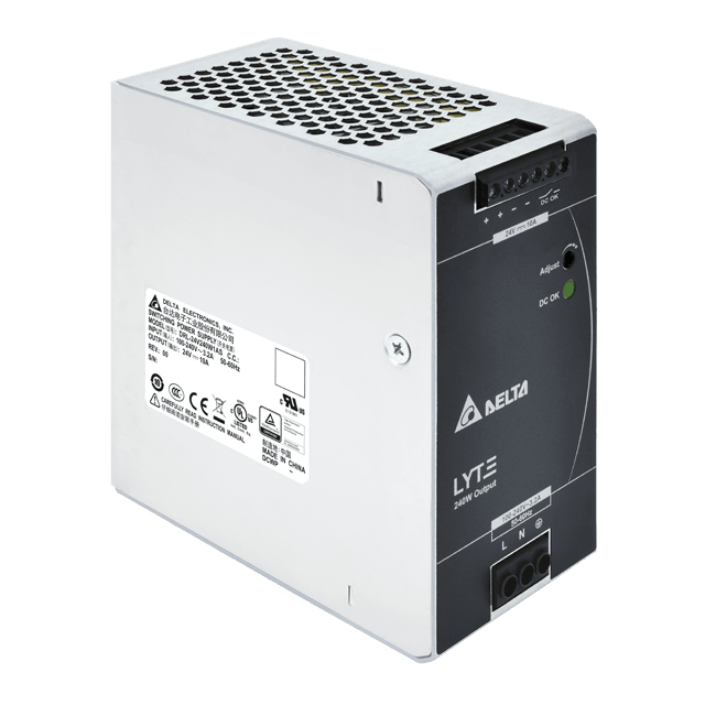 Power Supply 24v DC 240w/10a Single Phase