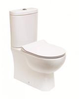 SONAS TONIQUE FULLY SHROUDED WC W360 X H830 X 625 MM WITH CISTERN AND SLIM S/C SEAT
