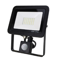 30W SMD AC Floodlight PIR 6000K