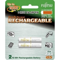 Batteries Recharg. AAA 2Blister | FUJITSU NI-MH RECHARGEABLE BATTERIES