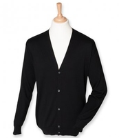 Gents Henbury V-button Cardigan