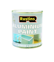 RUSTINS QUICK DRYING ALUMINIUM PAINT 500ML