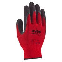 Uvex Unigrip 6628 Glove, Red/Black, Pair