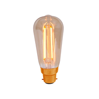 Bell 4W LED BC Vintage Squirrel Amber