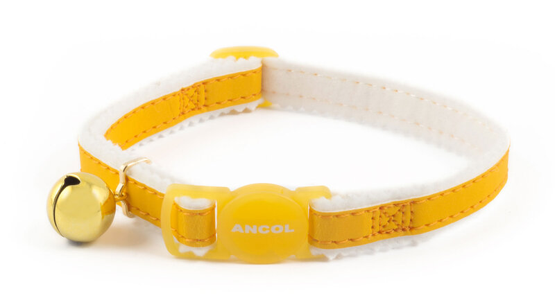 Ancol Reflective Yellow Cat Collar