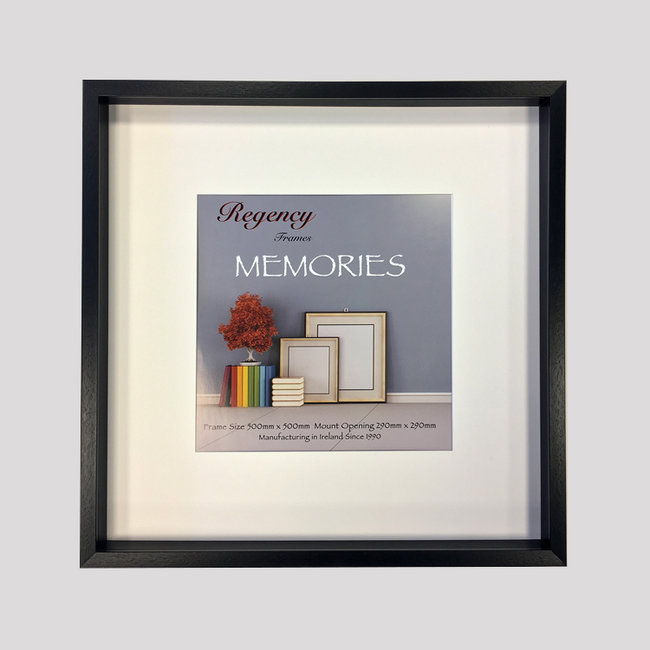 Memories Box Frame Black 50 x 50cm