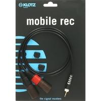 Klotz AY9 lightweight y-cable mini jack 3.5 mm - 2 x XLR male