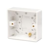 1 Gang 25 mm PVC Socket Box