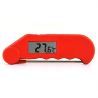 Red Gourmet Thermometer -39.9 to 149.9C