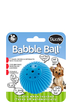 Pet Qwerks Talking Babble Ball Small x 1