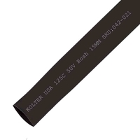 Heat Shrink | Black 15mm Diameter 100M Reel