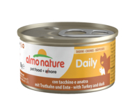 Almo Nature Daily Menu Cat Foil Chunks with Turkey & Duck 85g x 24