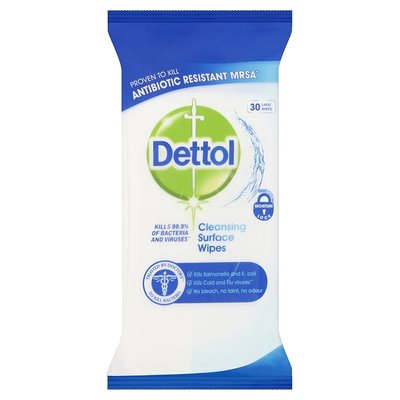 Dettol Surface Wipes 30pk