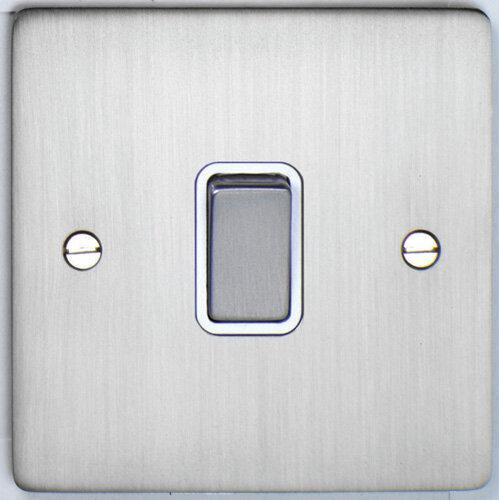 Deta Flat Plate 1 Gang Switch