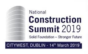 We're attending the National Construction Summit