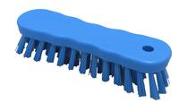 B1873B HYGIENE 180MM  SMALL ERGONOMIC SCRUB POLYPROP BLUE