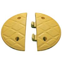 Jumbo 7.5cm End Caps Yellow