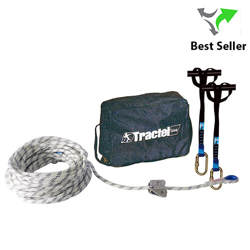 Tractel TEMPO III Rope Temporary Lifeline Kit