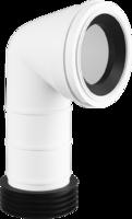 90 Degree Rigid Toilet Pan Connector