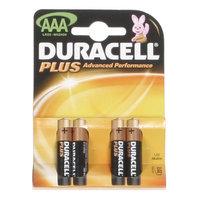 Duracell Plus MN2400 AAA Battery 4pk