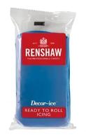 RENSHAW READY TO ROLL ICING POWDER BLUE 1 X 250 Grams