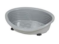 Straka 50 Plastic Dog Bed (50cm Base) - Light Grey