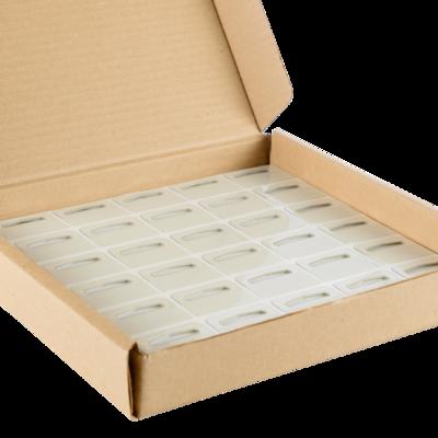 SHOPWORX Hang Tabs Euroslot 297K 40x32mm (Box 1k)