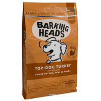 Barking Heads Adult Dog Top Dog Turkey 12kg