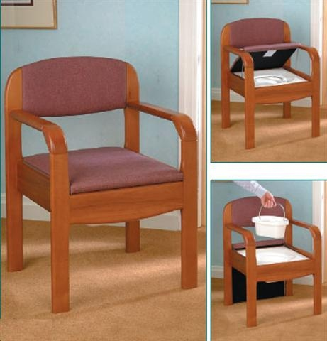 Wooden Commode - Homecare Medical Supplies